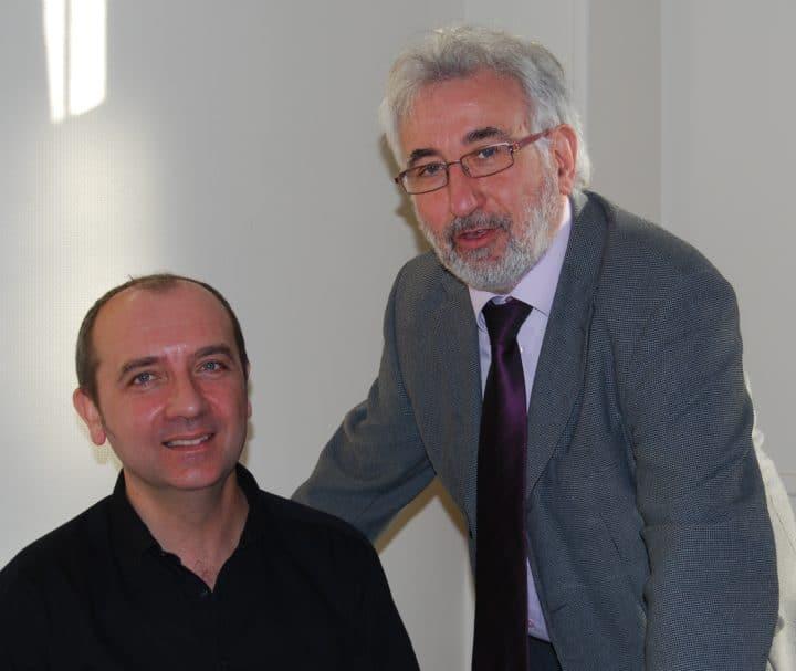 Les chefs d'établissement : Philippe Bougard, directeur de l'école et Jean-François Gaud, directeur de l'Institution
