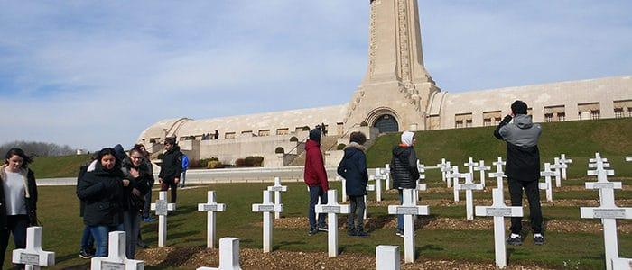 Les troisièmes en voyage à Verdun
