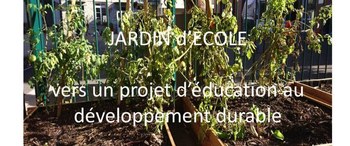 Un jardin d'école à l'élémentaire